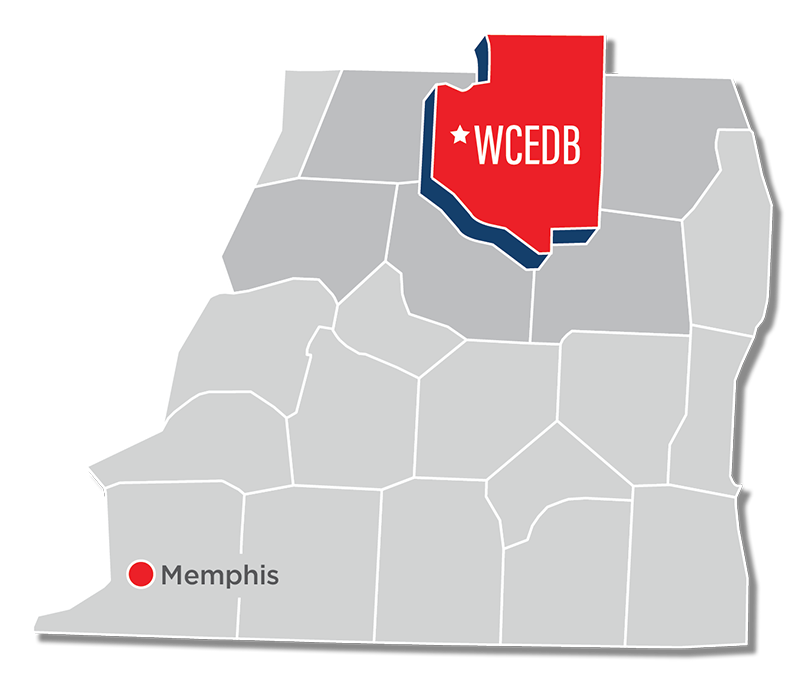 weakley county map nwtn